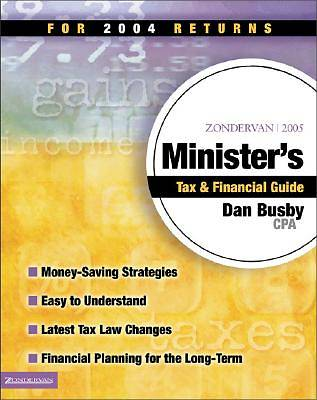 Zondervan 2005 Ministers Tax & Financial Guide
