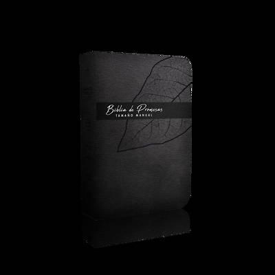 Picture of Biblia de Promesa Tamaño Manual / Piel Especial / Negro / Con Indice