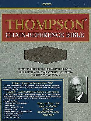 Picture of Thompson Chain Reference Bible-KJV