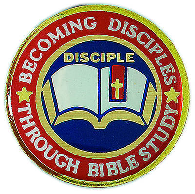 Disciple I Becoming Disciples Through Bible Study: Lapel Pins (Pkg of 6)