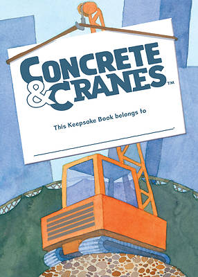Picture of Vacation Bible School (VBS) 2020 Concrete and Cranes Keepsake Book
