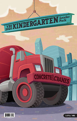 Picture of Vacation Bible School (VBS) 2020 Concrete and Cranes Kindergarten Leader Pack