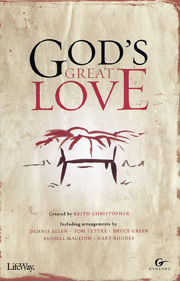 Gods Great Love CD Preview Pak