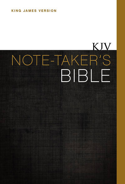 KJV Note-Takers Bible