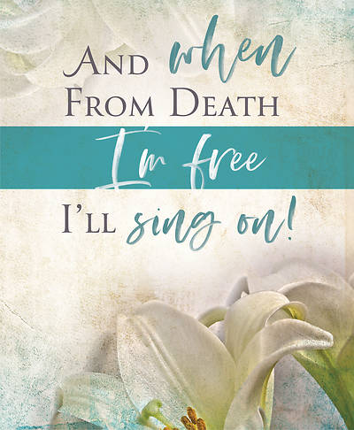 I'll Sing On Easter Sunday Bulletin Large (Pkg of 50)