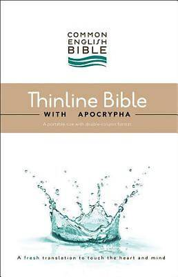 CEB Common English Thinline Bible with Apocrypha Hardcover