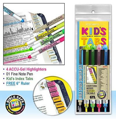 Picture of Bible Study Starter Set-Kids Tabs