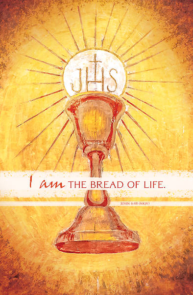 Picture of I Am the Bread of Life Communion Regular Size Bulletin