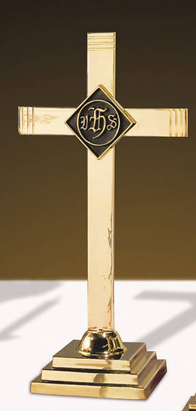 Picture of Sudbury KC484 Solid Brass Altar Cross
