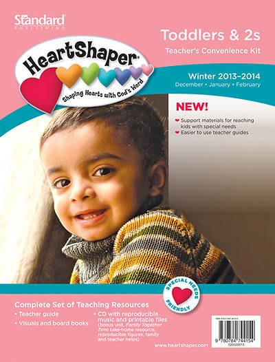 Standard HeartShaper Toddlers & 2s Teachers Kit Winter 2013-2014
