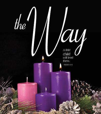 The Way Advent Candle Sunday 2 Bulletin, Large (Pkg of 50)