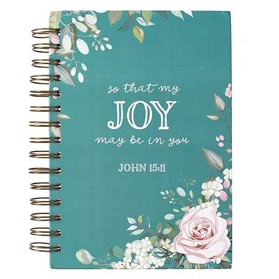 Picture of Journal Wirebound Large That Joy May Be in You - John 15