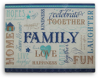 Picture of Celebrate Family Cutting Board
