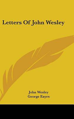 Picture of Letters of John Wesley