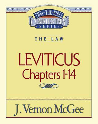 Picture of Thru the Bible Commentary - Leviticus I