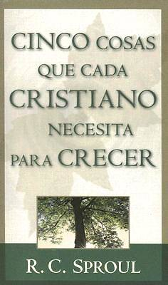 Cinco Cosas Que Todo Cristiano Necesita Para Crecer / Five Things Every Christian Needs to Grow