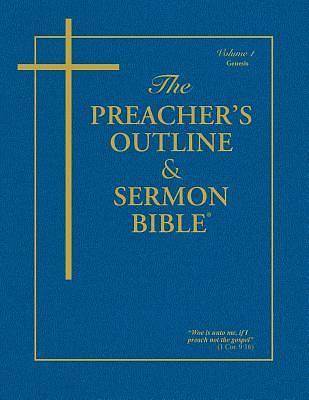 Picture of Preacher's Outline & Sermon Bible-KJV - Genesis 1