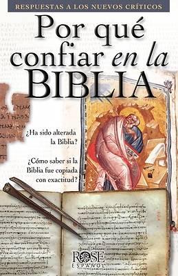 Picture of Por Que Confiar En La Biblia F
