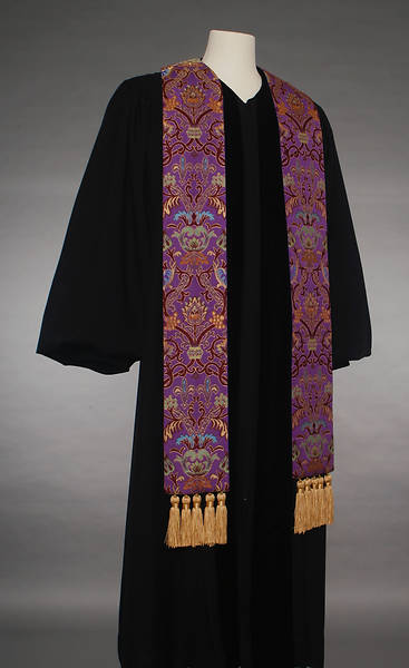Coronation Tapestry 70 Series Purple Stole