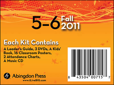 Picture of Live B.I.G. Ages 5-6 DVD Fall Kit 2011