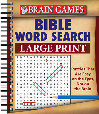 Picture of Brain Games Bible Word Search Large Print