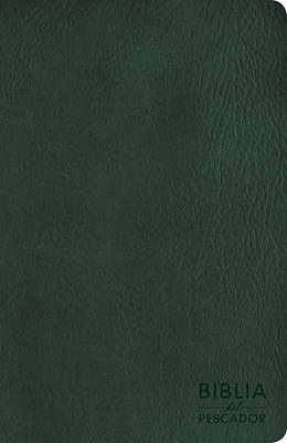 Picture of NVI Biblia del Pescador Letra Grande, Verde Símil Piel