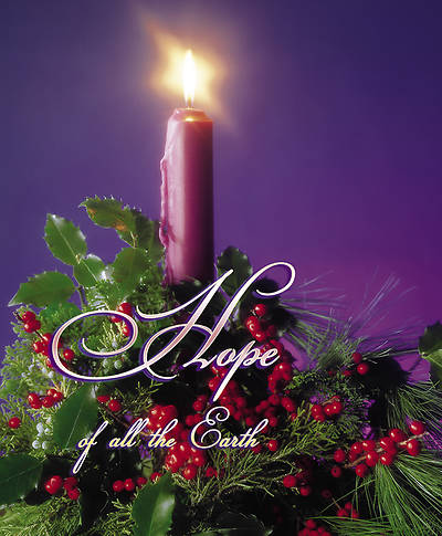 Advent Week 1, Hope Bulletin Large (Package of 100)