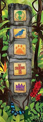 Standard VBS Jungle Safari Giant Ancient Pillars
