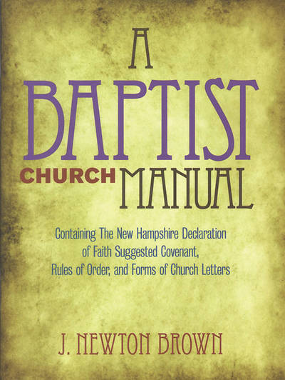 Picture of The Baptist Church Manual