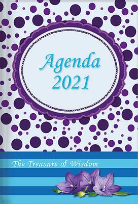 Picture of The Treasure of Wisdom - 2021 Daily Agenda - Purple Dots