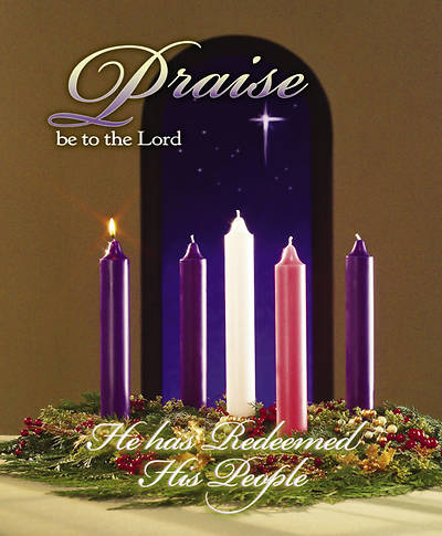 Advent Week 1/Praise Bulletin, Large (Package of 100)