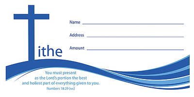 Offering Envelope - Tithe - Numbers 18:19 (NIV) (PK 100)