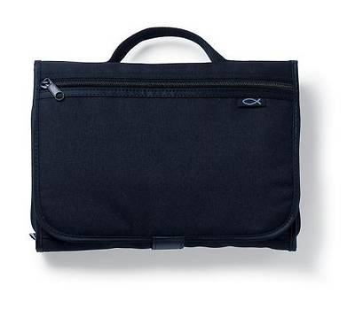 Picture of Deluxe Tri-Fold Large Black Organizer