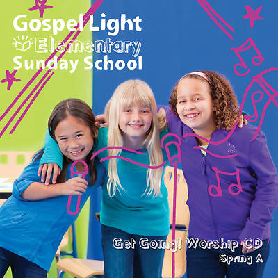 Picture of Gospel Light Grade 1-4 Get Going CD Year A Spring