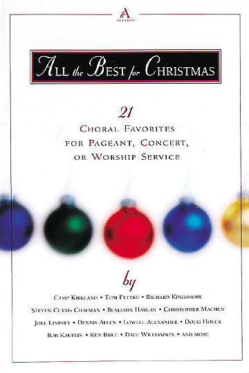 All the Best for Christmas Choral Book
