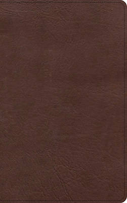 Picture of KJV Single-Column Personal Size Bible, Black/Brown Leathertouch