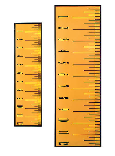 Vacation Bible School (VBS) 2014 Workshop of Wonders Set of 5 Giant Decorating Rulers