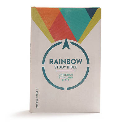 Picture of CSB Rainbow Study Bible, Hardcover