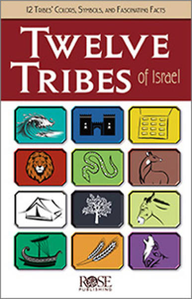 Picture of Twelve Tribes Of Israel Pamphlet