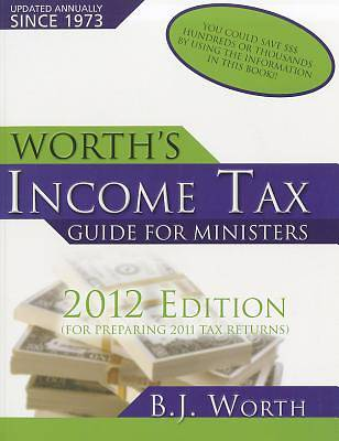 Worths Income Tax Guide for Ministers 2012 Edition
