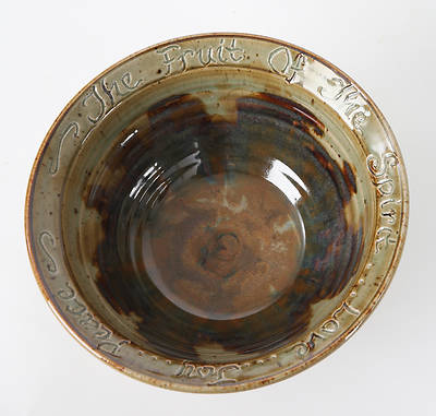 Fruit of the Spirit Large Porcelain Pasta Style Bowl