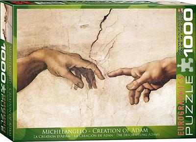 Picture of Creation of Adam Puzzle