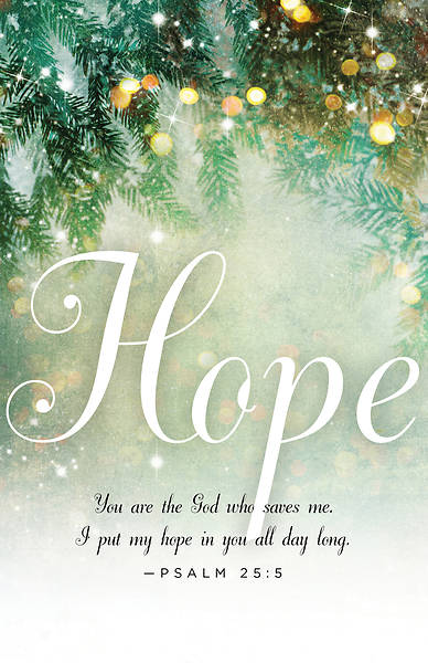 Hope Image Advent Bulletin (Pkg of 50)