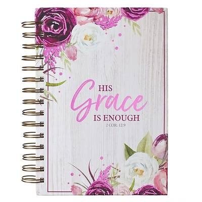 Picture of Journal Wirebound Large His Grace Is Enough - 2 Cor 12