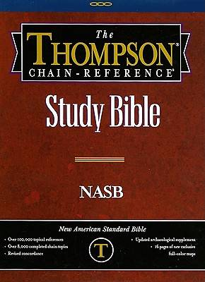 Picture of Thompson Chain Reference Bible-NASB