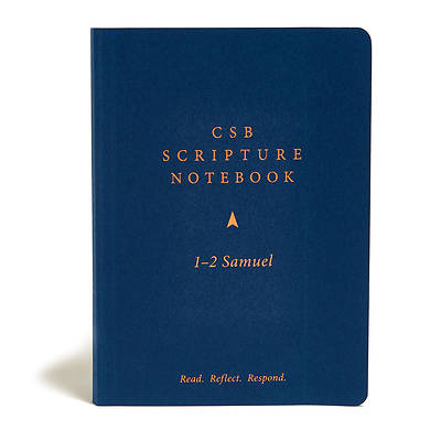 Picture of CSB Scripture Notebook, 1-2 Samuel