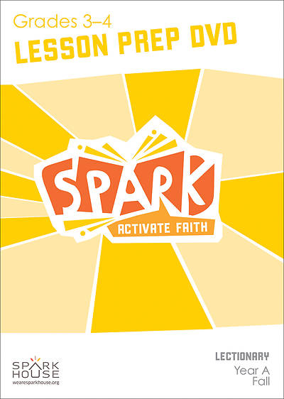 Spark Lectionary Grades 3-4 Preparation DVD Fall Year A