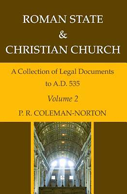 Picture of Roman State & Christian Church Volume 2