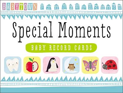 Babytown Special Moments Baby Record Cards