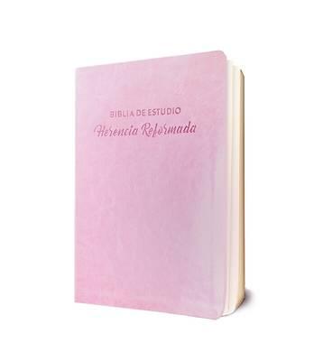 Picture of Biblia de Estudio Herencia Reformada - Simil Piel (Rosado)